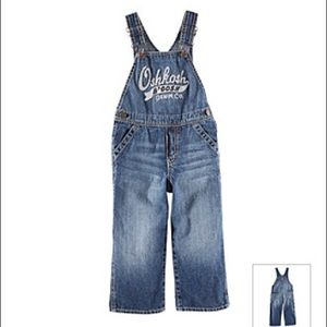 baby 24M OshKosh B'Gosh denim overalls